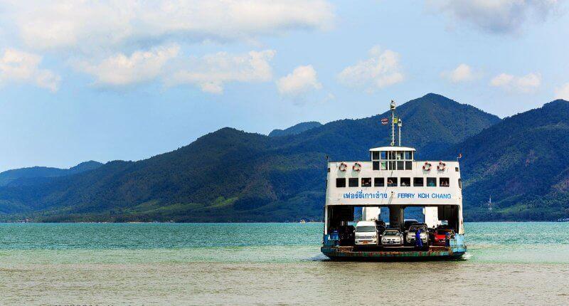 Паром на Андаманские острова