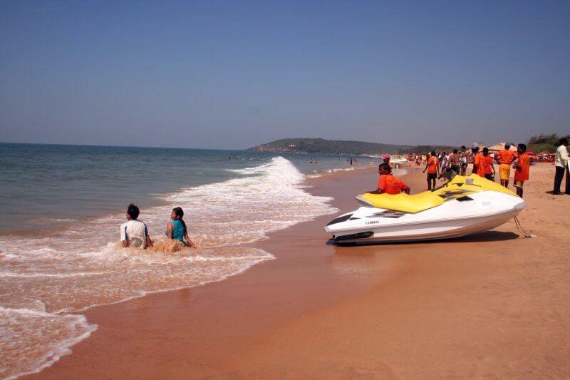 Вид на пляж Калангута