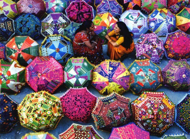 Зонты в Индии