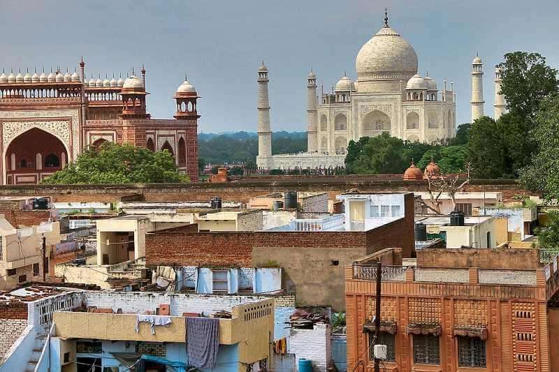 картинка фотография курорта Агра в Индии