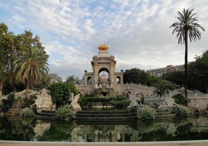 Вид на парк Цитадели