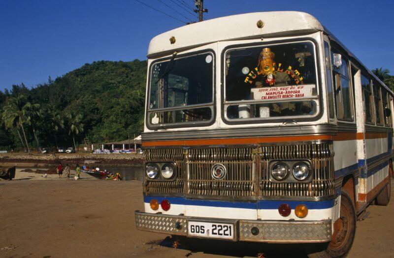 Автобус в Гокарне