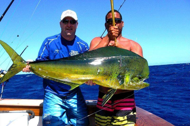 Улов на рыбалке в Пунта-Кане