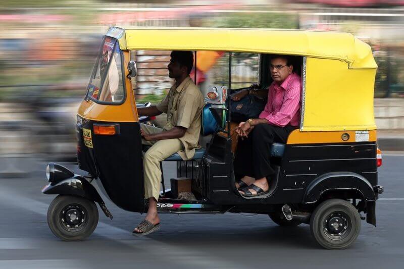 Авторикша в Дели
