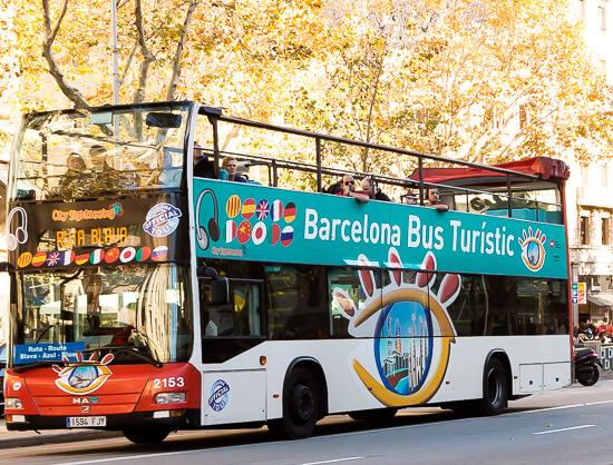 Автобус Bus Güell