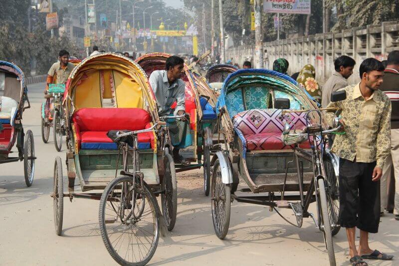 Велорикша в Дели
