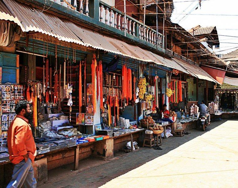 Рынок в Гокарне