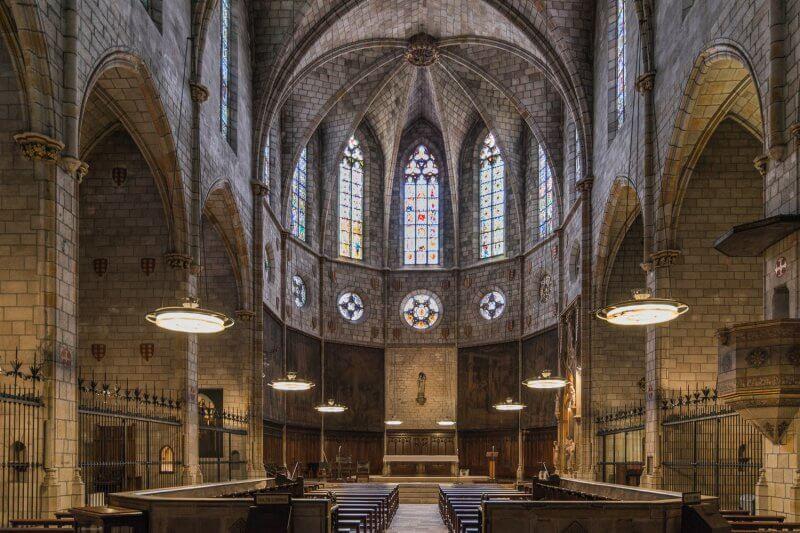 Монастырь Санта-Мария-де-Педральбес внутри