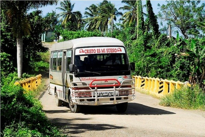 Автобус в Пунта-Кане