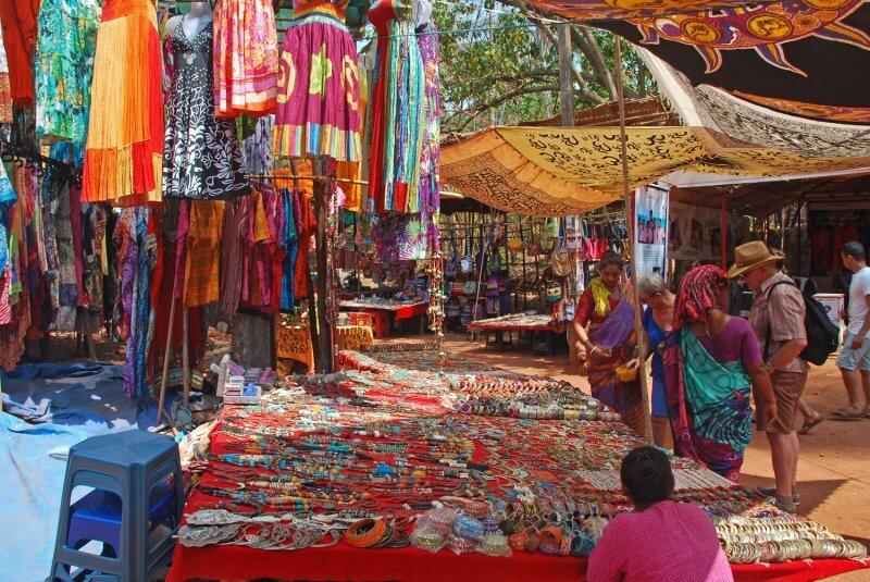 Рынок в Калангуте