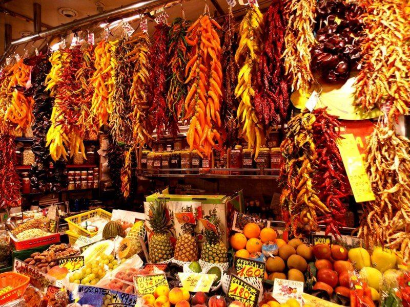 Товары на рынке Бокерия
