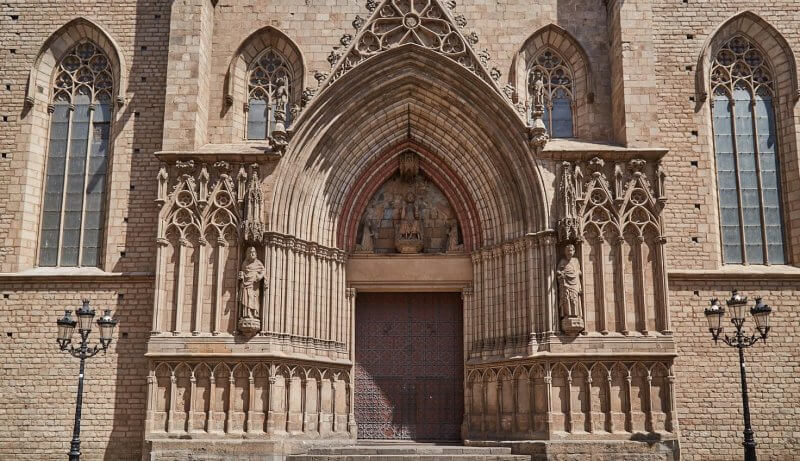 Вход в Санта-Мария-дель-Мар