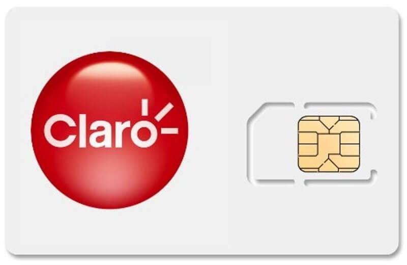 Сим-карта оператора Claro
