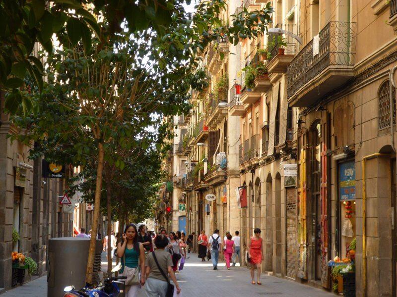 Район Раваль в Барселоне
