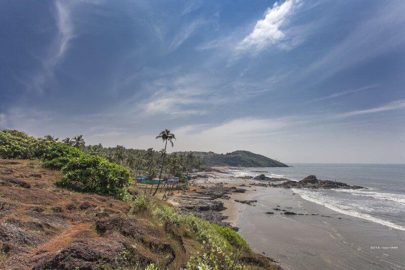 Пляж Средний Вагатор