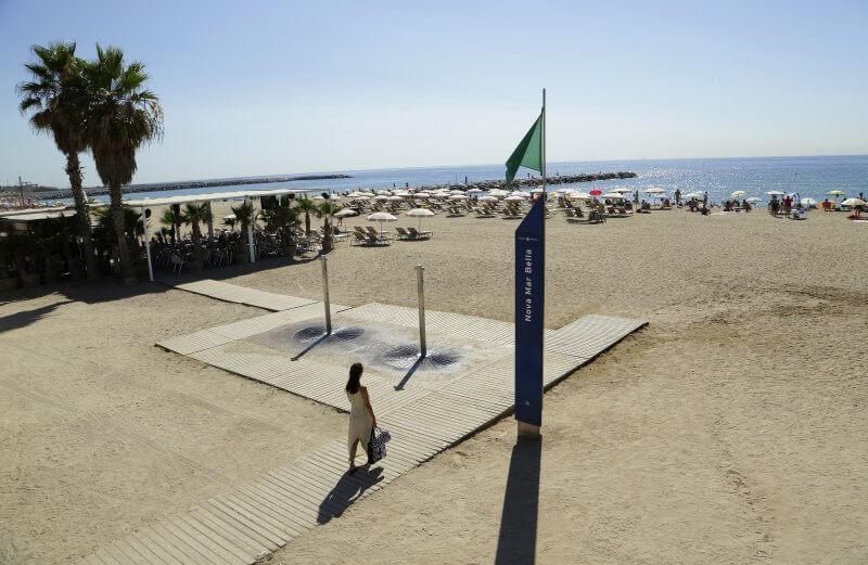 Пляж Нова Мар Белла