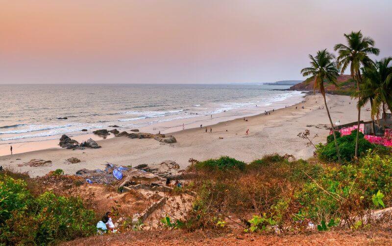 Пляж Маленький Вагатор