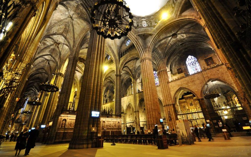 Главный зал Кафедрального собора