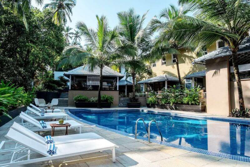 Отель на пляже Вагатор