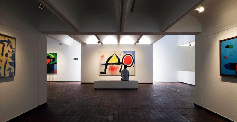 Экспозиция Фонда Хуана Миро