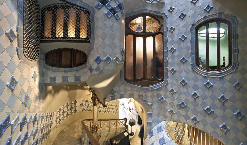 Главная лестница в доме Бальо