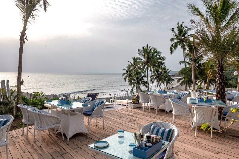 Ресторан на пляже Вагатор