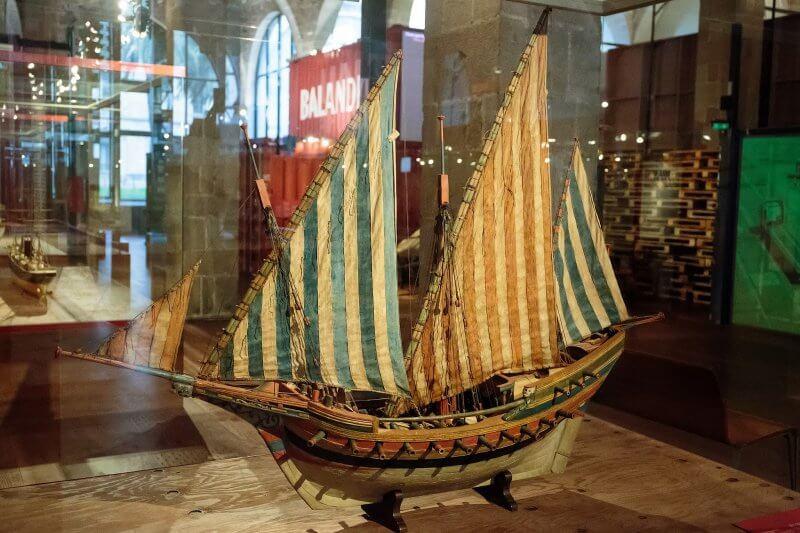 Экспонат в военно-морском музее