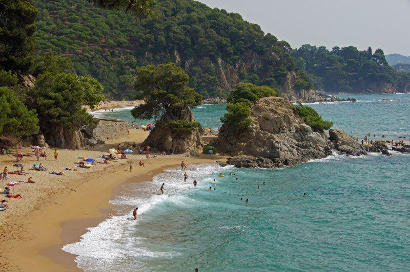 Пляж Санта Кристина