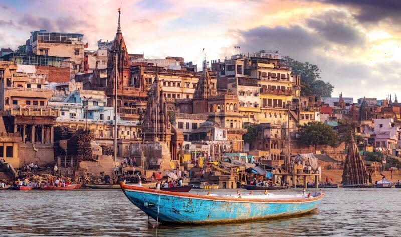 Варанаси в Индии