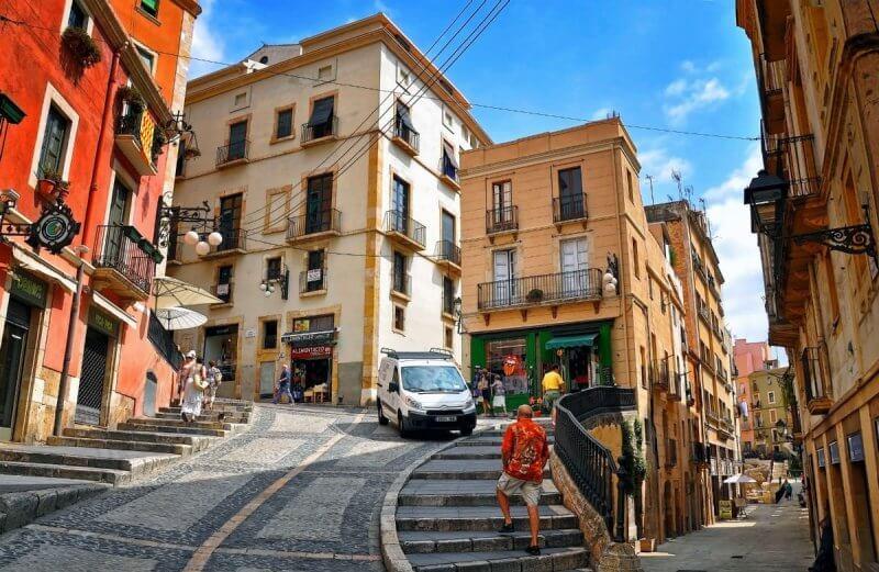 Вид на Таррагону