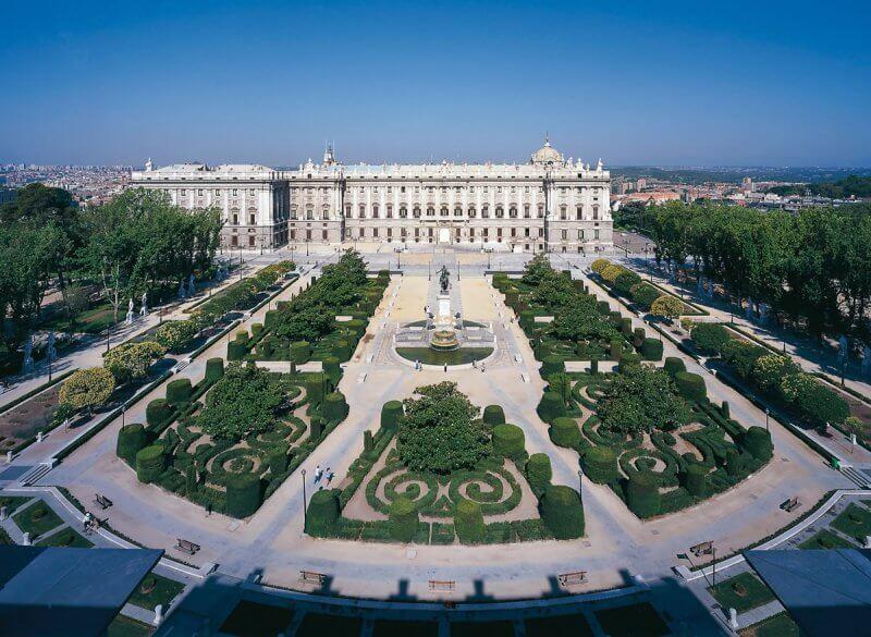 Королевская площадь в Мадриде