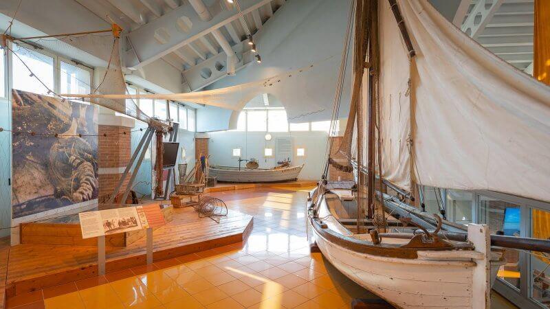 Морской музей внутри