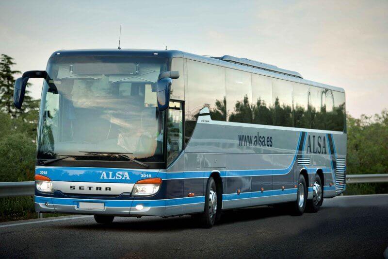 Автобус Alsa в Картахене