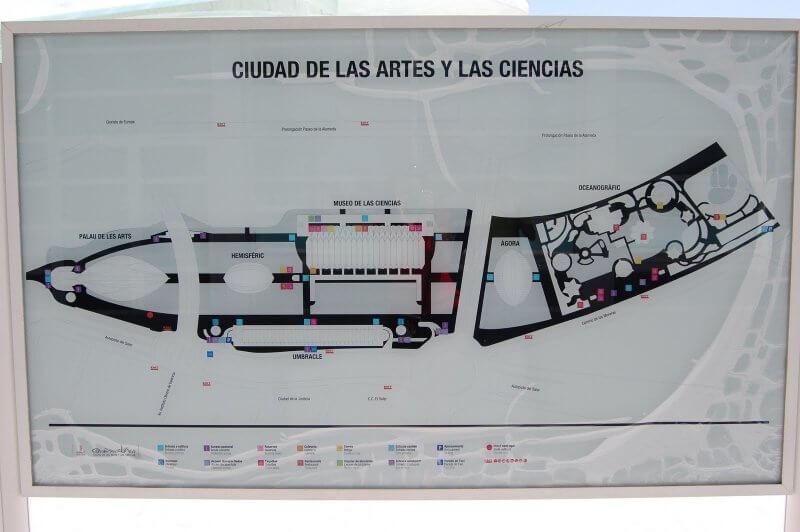 Карта-схема города науки и искусств
