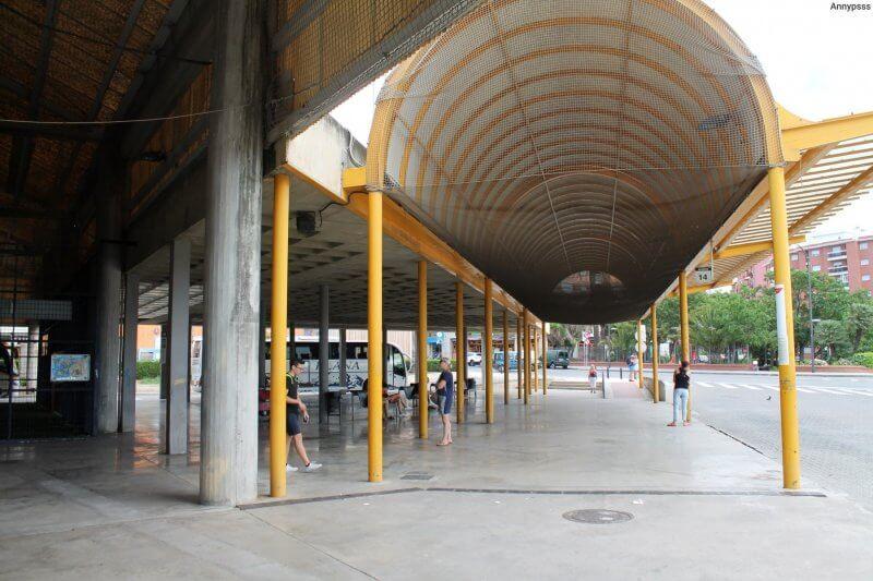 Автовокзал в Реусе