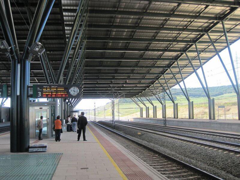 Железнодорожная станция в Бургосе
