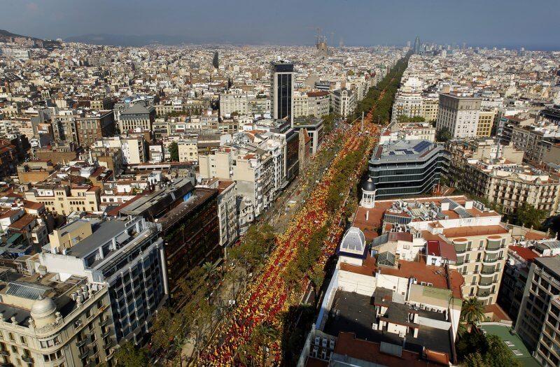Улица La Diagonal