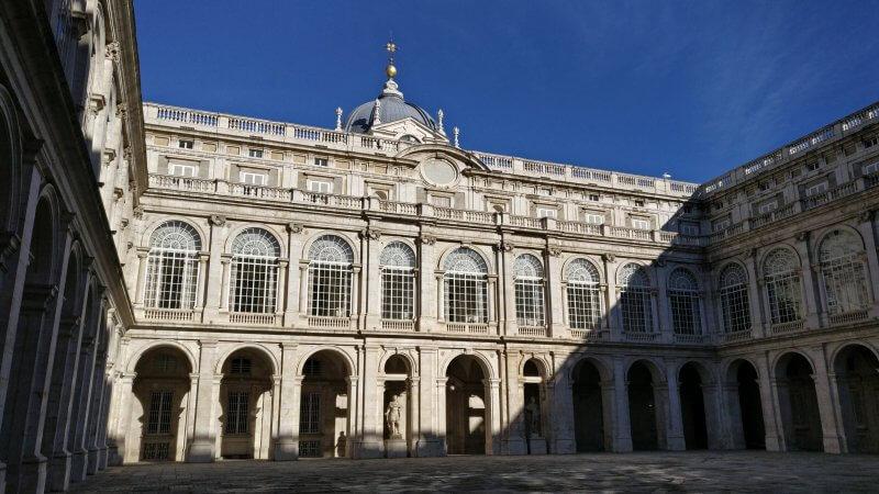 Центральная часть королевского дворца