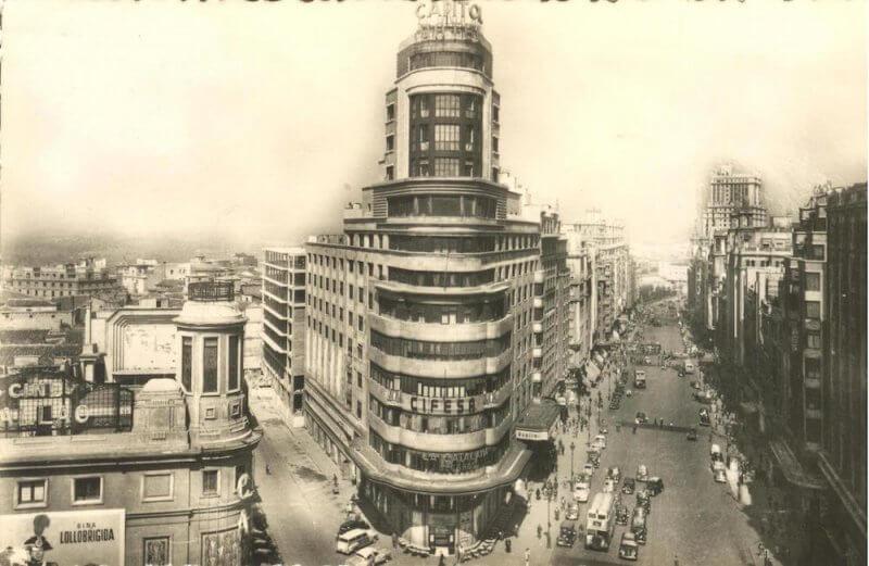 Старое фото Гран-Виа