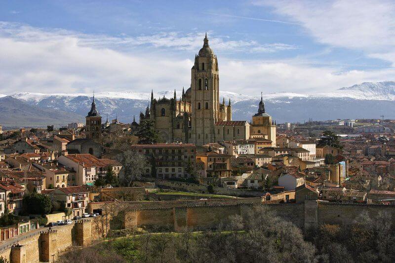 Вид на город Леон