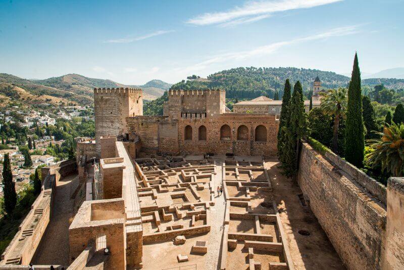 Алькасаба в Альгамбре