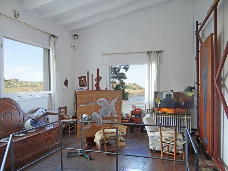 Комната в доме-музее Сальвадора Дали