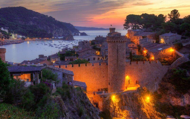 Крепость Тосса-де-Мар