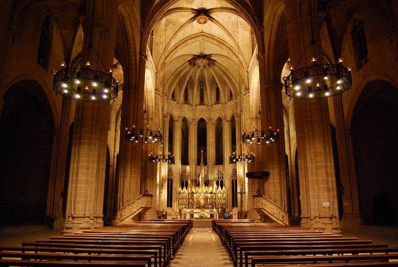 Кафедральный собор Тортосы внутри