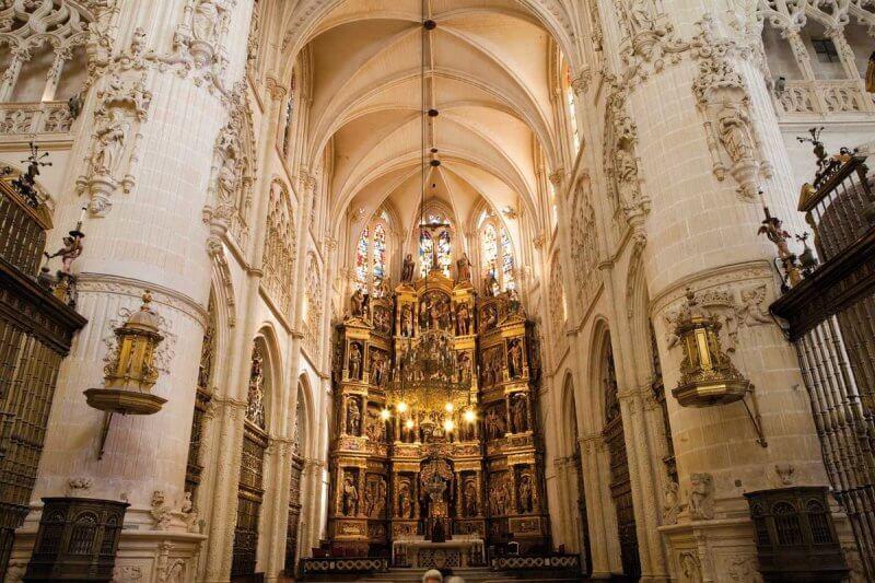 Кафедральный собор Бургоса внутри