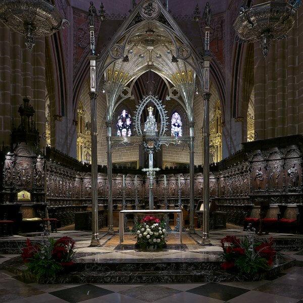 Кафедральный собор Святой Марии внутри