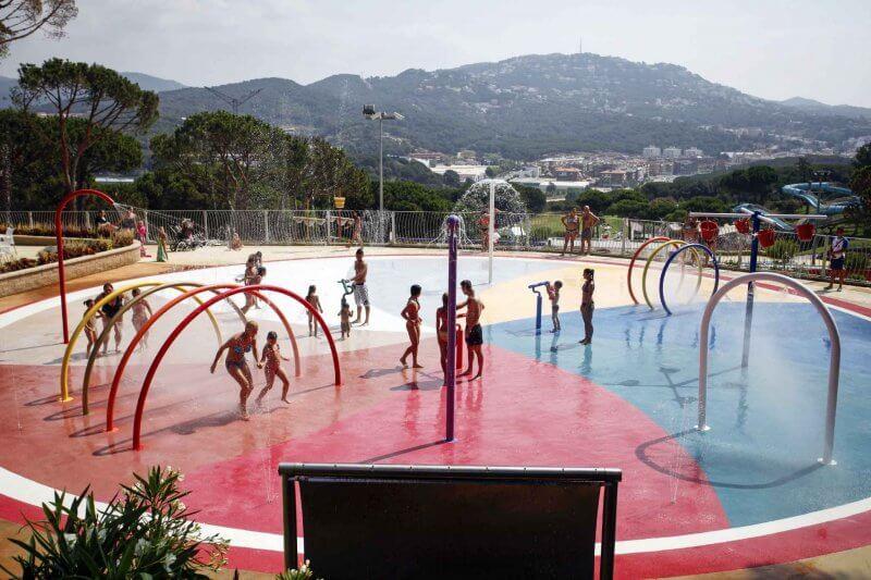 Площадка в аквапарке «Водный мир»