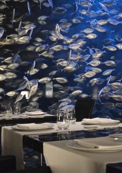 Ресторан в океанографическом парке
