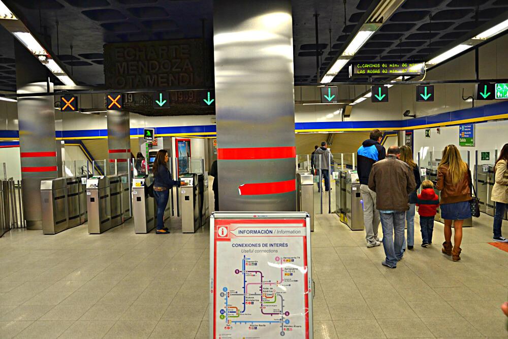 Турникет в метро