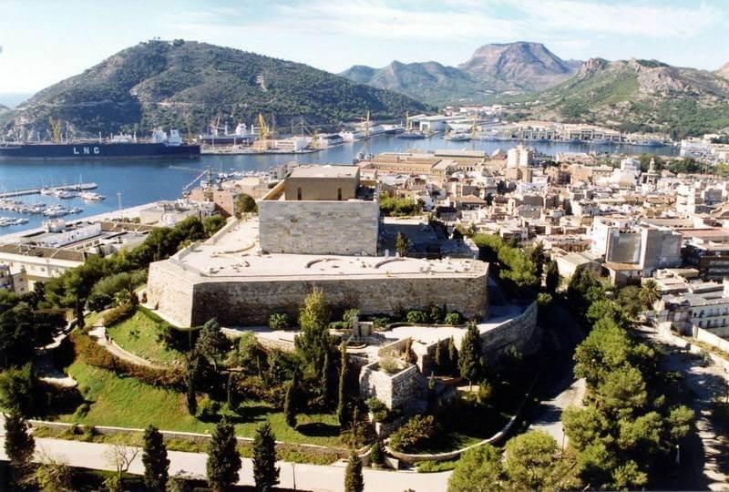 Вид на старую часть Картахена